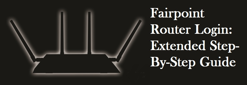 fairpoint router login